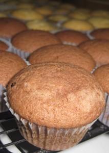 Mini Schokoladen Muffins 01