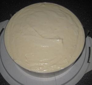 Käse Sahne Kuchen mit Mandarinen 03