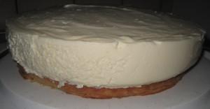 Käse Sahne Kuchen mit Mandarinen 04
