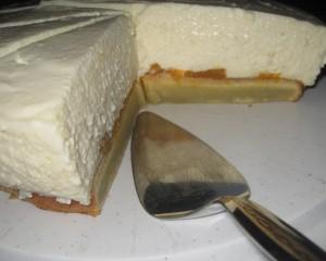 Käse Sahne Kuchen mit Mandarinen 06