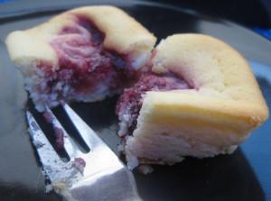Mini-Käsekuchen mit Marmelade 07
