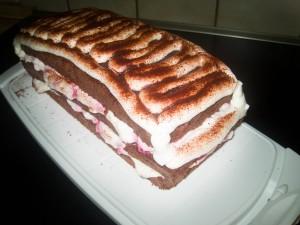 Himbeer Schoko Kuchen 06