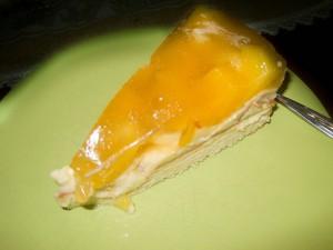 Apfel-Pfirsich-Pudding Kuchen 06