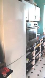 Küchen Umbau links
