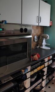 Küchen Umbau links Detail