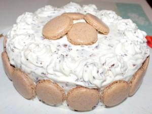 Schokokuss Macarons Torte 001