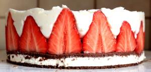 Erdbeer-Milchschnitten Torte 01