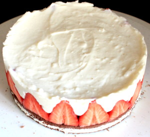 Erdbeer-Milchschnitten Torte 02
