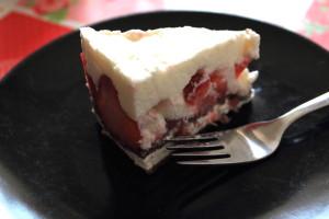 Erdbeer-Milchschnitten Torte 04