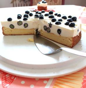 Heidelbeer Muttertags Torte 04