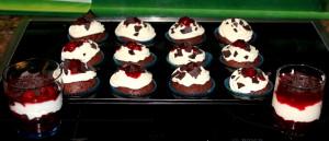 Schwarzwälder Kirsch Cupcake 01