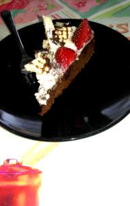 Erdbeer Schokokuss Torte 03